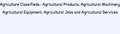 agriculture classifieds