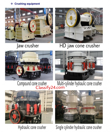 Buy crushing machines, crushing machines for sale, import crushing machines