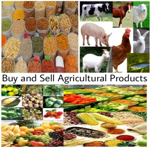 Buy and sell agricultural products on agricultural marketplace. Buy agricultural products, export agricultural products, import agricultural products, supply agricultural products.