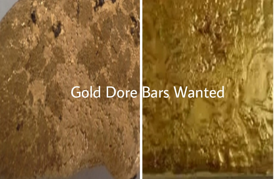 Gold Dore Bars Wanted for Purchase by Gold Dore Bar Buyer