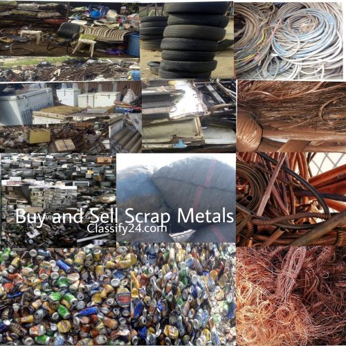 Buy and sell scrap metals, import and export scrap metals, buy scrap metals, import scrap metals
