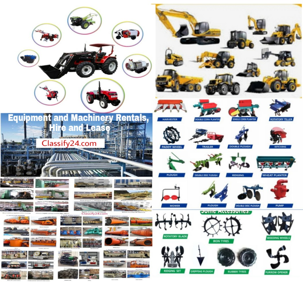 Lease and hire equipment and machinery rentals marketplace. Machinery and equipment rentals marketplace for hire and lease.